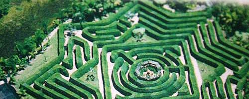 Travel to Bellingham Maze with our Brisbane car rental service.