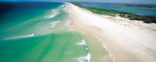 Travel to Bribie Island with our Brisbane car rental service.
