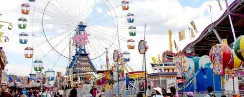 Travel to the Ekka / Royal Queensland Show with our car hire Brisbane service.