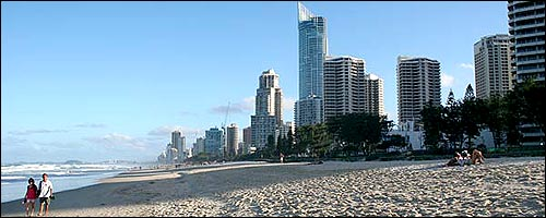 Discover the Gold Coast Beaches with our cheap car rentals Gold Coast service.
