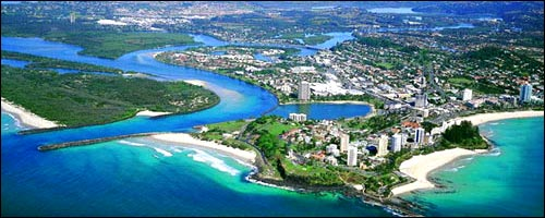 Travel to Tweed Heads with our Gold Coast Airport service.