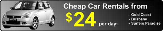 cheap car rental banner